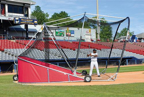 Red Big Bomber Pro Batting Cage