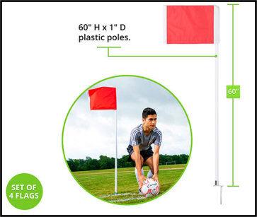 Deluxe Corner Flag Measurement