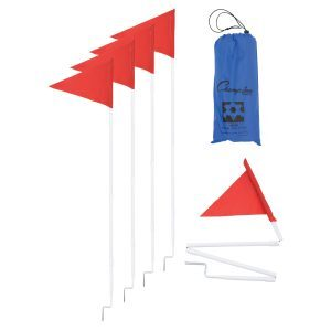 Portable Collapsible Corner Flag Set
