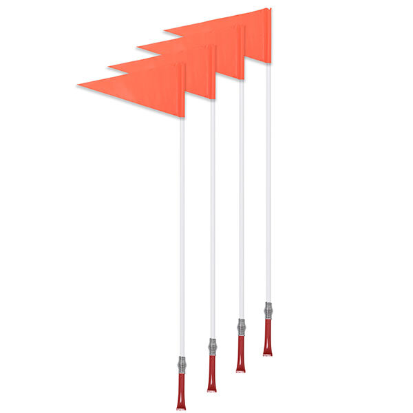 Corner Flag Set with Plastic Poles