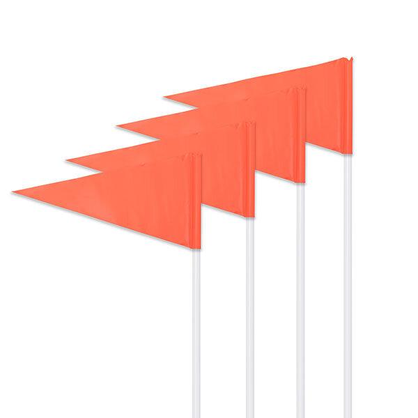 Orange Corner Flag Set