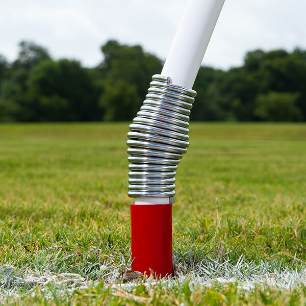 Corner Flag with Plastic Pole and Spring Base