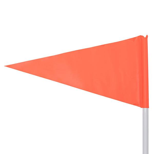 Orange Corner Flag