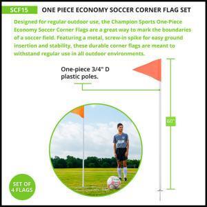 Economy Corner Flag Set