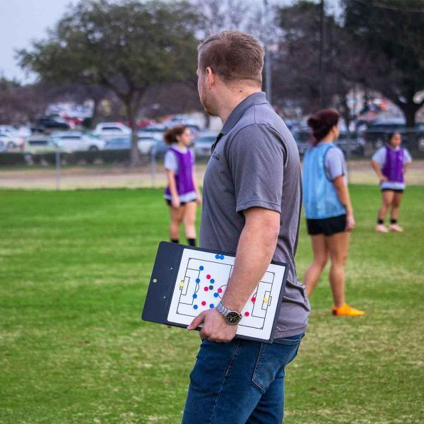 Coach with Magnetic Tactic Clipboard