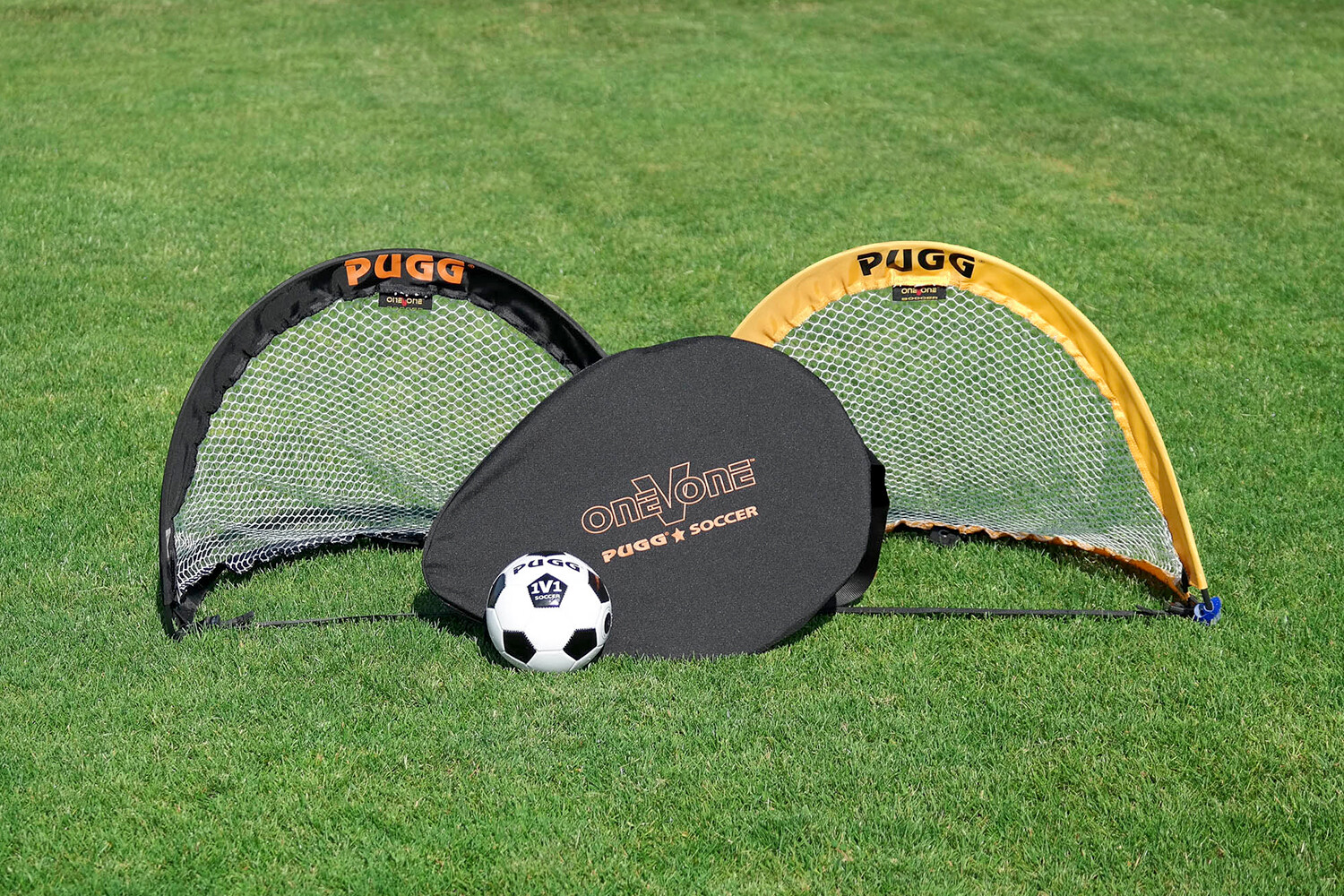 A Pair of PUGG Mini One-V-One Pop-Up Goals