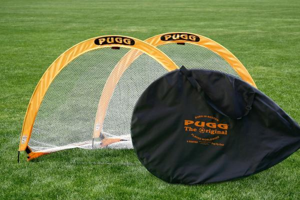 Pair of 6ft Pugg Pop-up Goals with Carry Bag