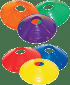 Colored Disc Cones
