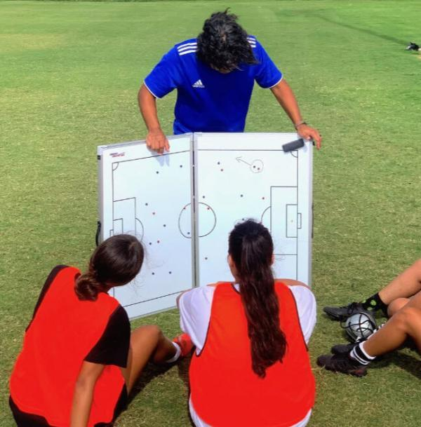 Jumbo Magnetic Hinged Tactical Board with Players