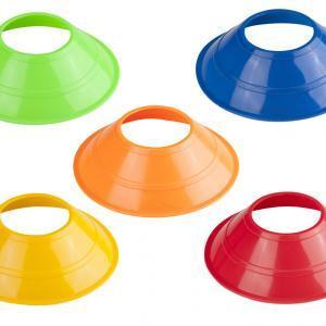 Neon Mini Disc Cones