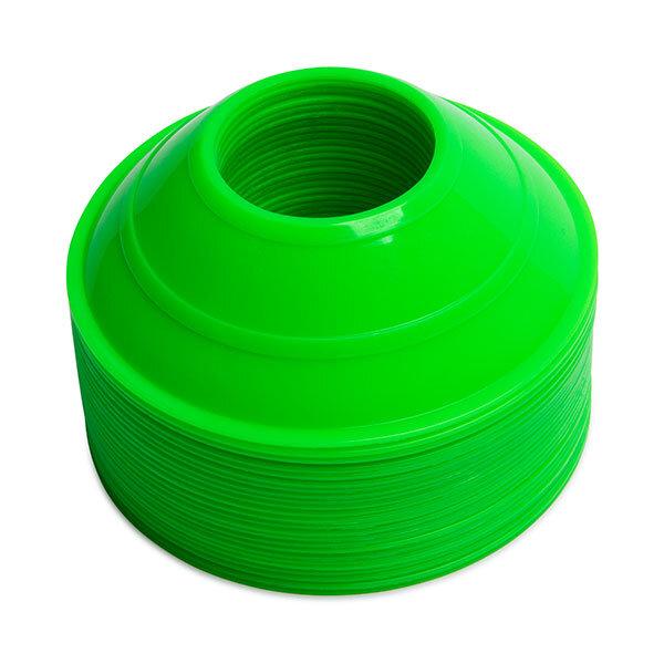 Neon Green Mini Cones