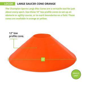 Large Orange Cone Measurements