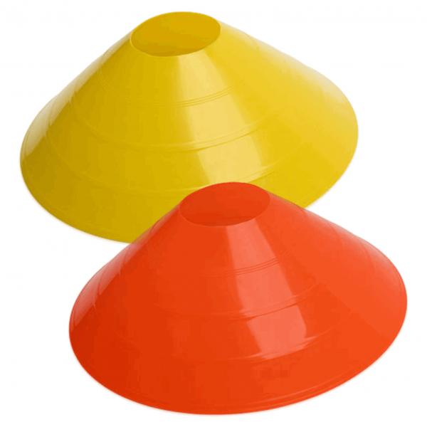 Orange and Yellow Large Cones