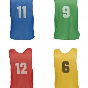 Practice Scrimmage Vests with Numbers