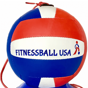 Red, White and Blue Multitouch Fitnessball Trainer