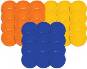Round Poly Spot Markers