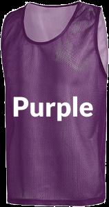 Purple Scrimmage Vests