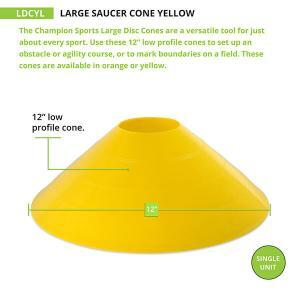 Large Yellow Cone Measurements