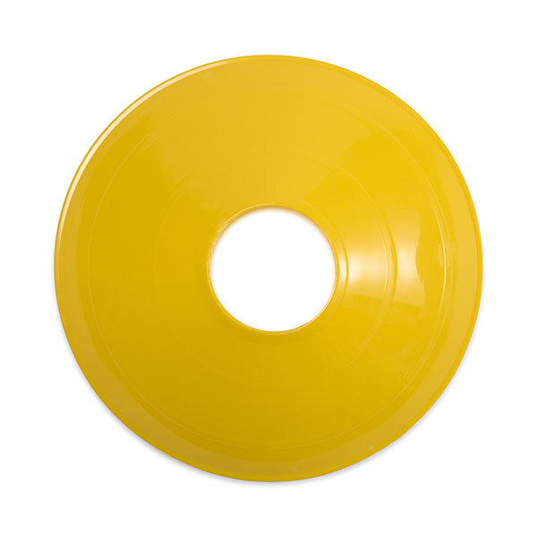 Yellow Disc Cone Top