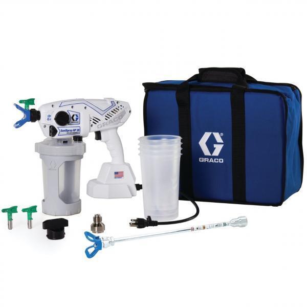 Graco Handheld Corded Airless Disinfectant Sprayer. SaniSpray HP 20 Corded
