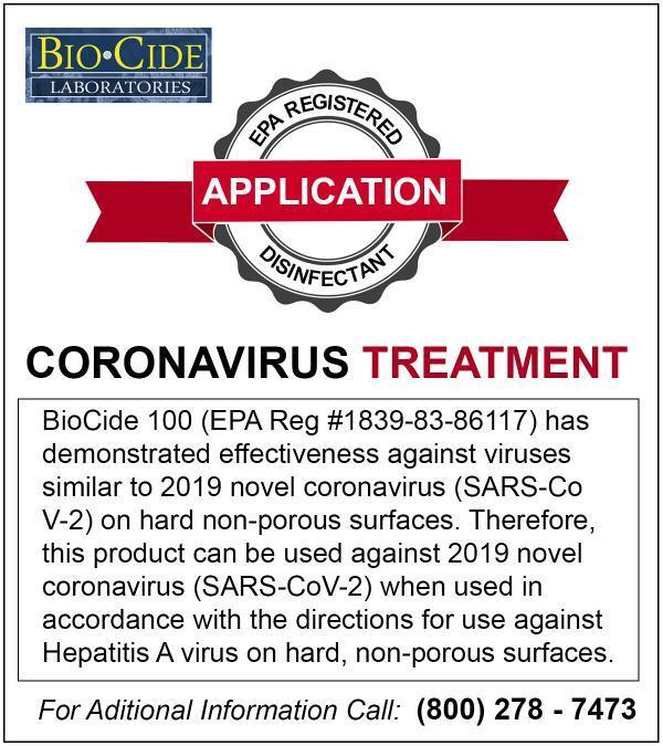 BioCide - CoronaVirus Treatment