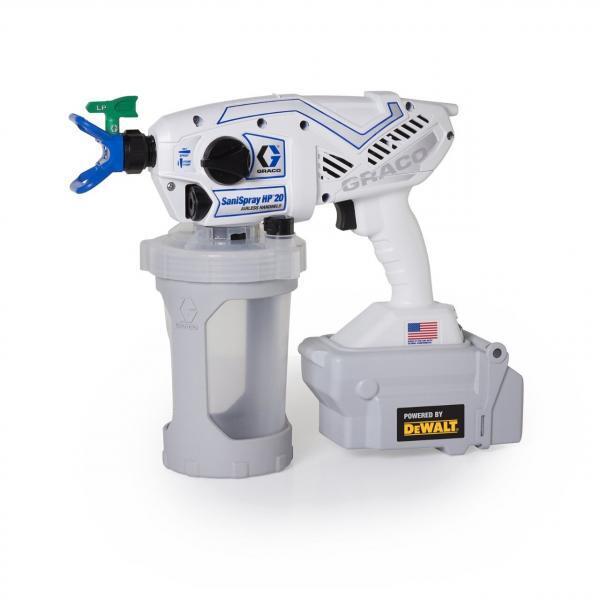 Sanispray HP 20 Cordless Airless Sprayer Product Manual