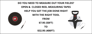 Open and Closed Reel Measuring Tapes