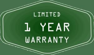 1-year-limited-warranty-Green