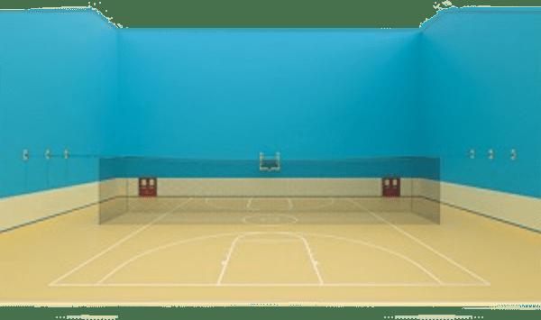 Batting Cage (55'L x 14'W x 14'H) - Quick Set-Up (Indoor) (G4S-JAY-BBC-Q555)