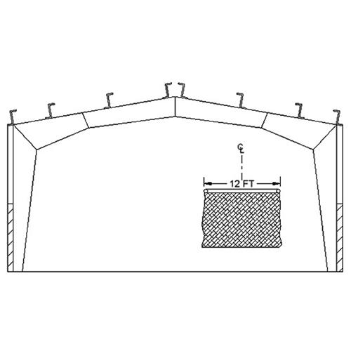 Ceiling Mounting Kit - Rigid Frame (BBC-RIGKIT)