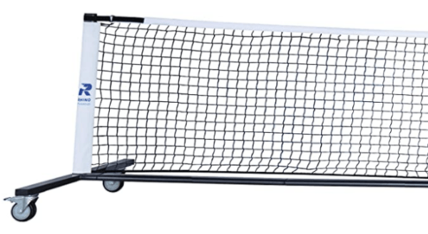Champion Rhino Deluxe Pickleball Net - End View