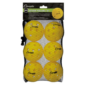 Champion Injection Molded Outdoor Pickleball Balls