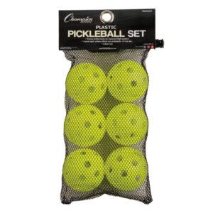 Champion Recreational Indoor Pickleballs Retail Packaging