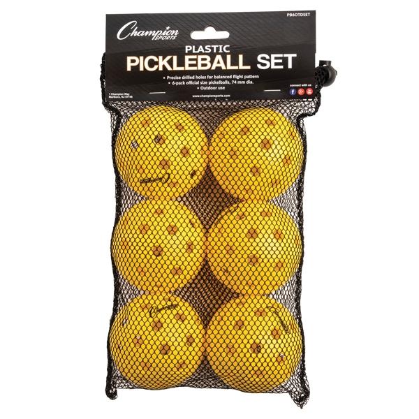 Champion Recreational Outdoor Pickleball Balls