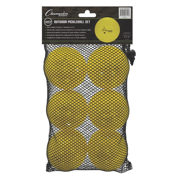 Champion Roto Molded Outdoor Pickleball Retail Packaging
