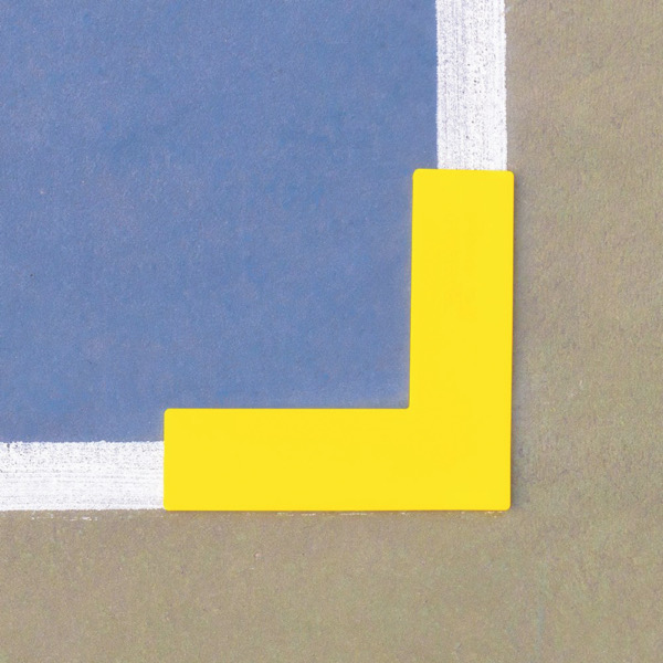 """Pickleball """"L"""" Shaped Markers"""