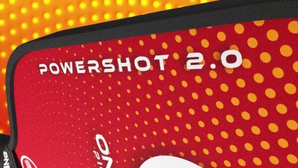 PowerShot 2.0 Pickleball Paddles by OneShot