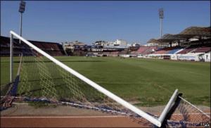 Broken Soccer Goal