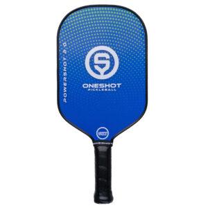 Blue PowerShot 2.0 Pickleball Paddle by OnShot