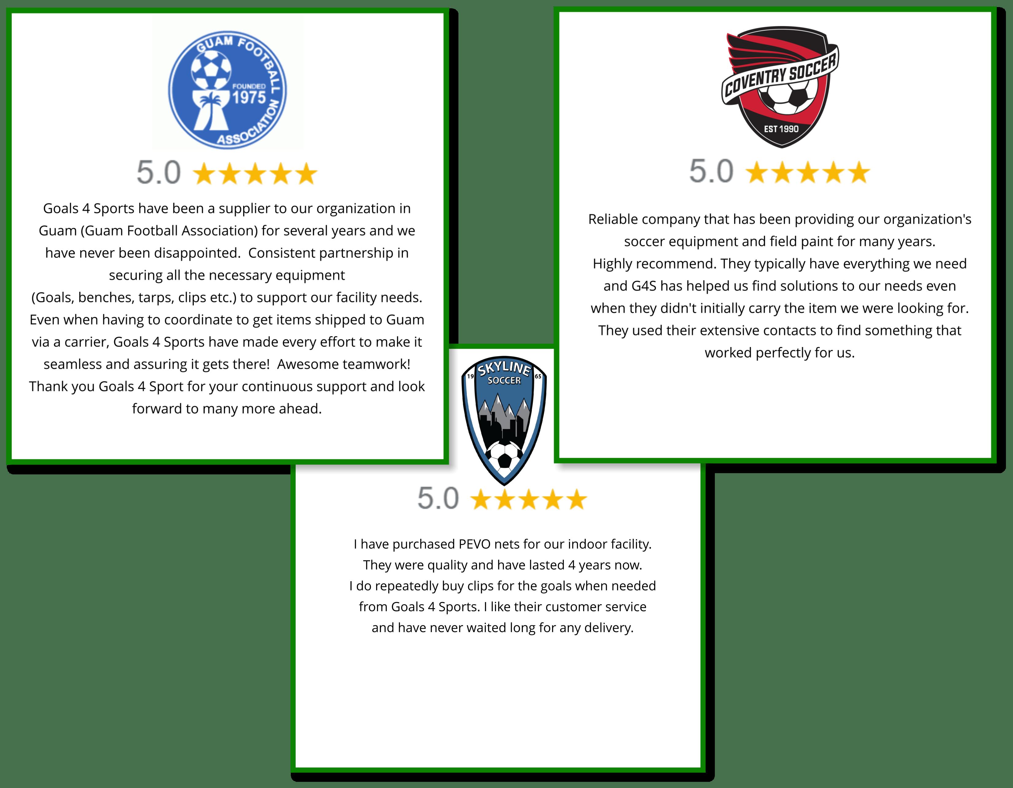Goals4Sports Reviews
