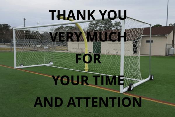 Soccer Goal Safety